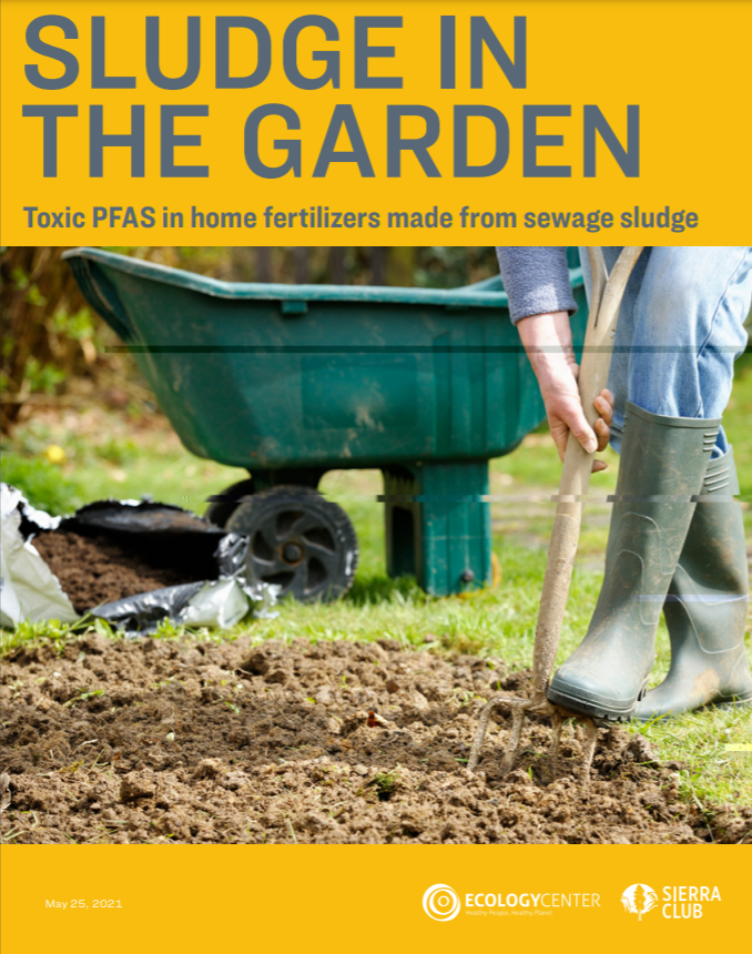 Cover of Sierra Club Biosolids Report
